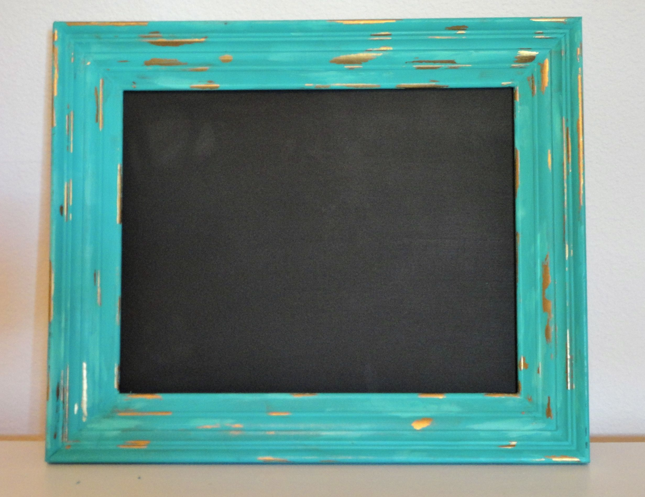 How to refinish an old picture frame and turn it into a fun chalkboard8 jeuxipadfo Choice Image